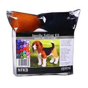 Ashford  Needle Felting Kit - Beagle (3D)
