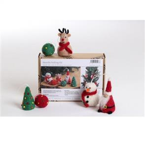 Ashford  Needle Felting Kit - Christmas Ornaments (6)