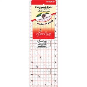 "Sew Easy  Patchwork Quilt Ruler - 14"" x 4.5"""