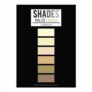 Shades Paper Pad - A4 Cream - 24 Sheets