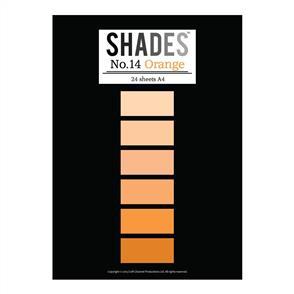 Shades Paper Pad - A4 Orange - 24 Sheets