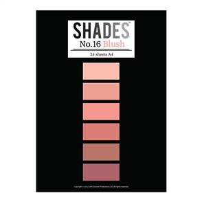 Shades Paper Pad - A4 Blush - 24 Sheets