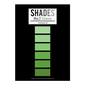 Shades Paper Pad - A4 Green - 24 Sheets
