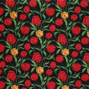 Northcott  - Tulip Nouveau - 2874 Red