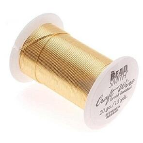 Beadsmith Gold Color Wire