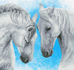 Needle Art World  No-Count Cross Stitch Kit - Horse Prayer