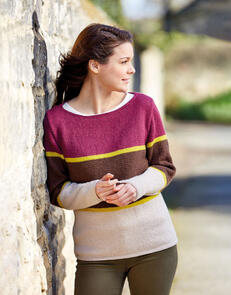 Sirdar Three Colour Sweater in Country Classic DK