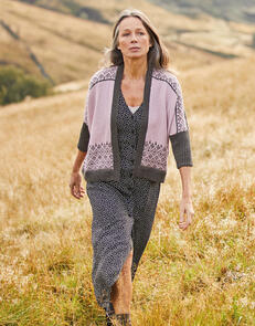 Sirdar Kimono Cardigan in Country Classic 4 Ply Pattern