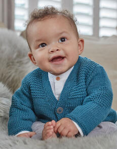 Sirdar Baby Cardigans in Snuggly Cashmere Merino Knitting Pattern