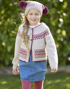 Sirdar Children's Cardigan & Hat in Country Classic DK Pattern