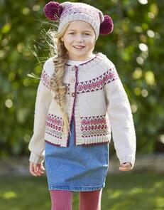 Sirdar  Children's Cardigan & Hat in  Country Classic DK Pattern