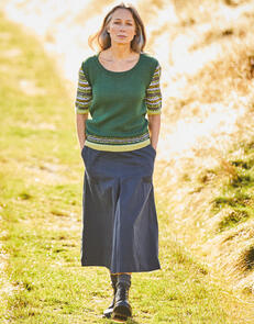 Sirdar Pattern Sleeve Sweater in Country Classic 4 Ply Pattern