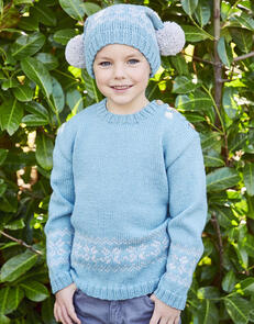 Sirdar Children's Sweater & Hat in Country Classic DK Pattern