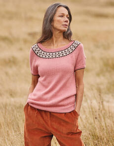 Sirdar Yoke Top in Country Classic 4 Ply Pattern