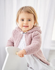Sirdar Baby Girl's Jackets in Snuggly Bunny Pattern Knitting Pattern