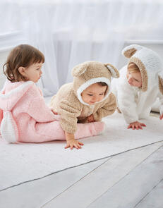 Sirdar Baby All In One in Snuggly Bunny Knitting Pattern