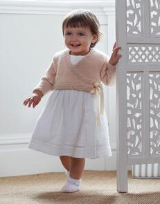Sirdar Ballerina Cardigan in Snuggly Cashmere Merino Knitting Pattern