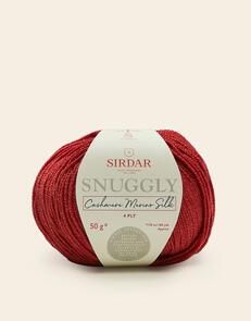 Sirdar Snuggly Cashmere Merino Silk 4ply, 50g