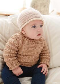 Rowan  Aida by Grace Jones, Baby Hat Pattern