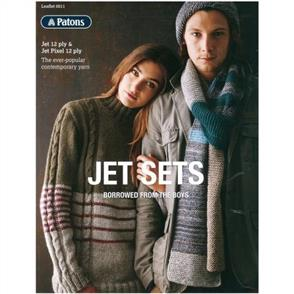 Patons Jet Sets - 0011 Boyfriend Jumper