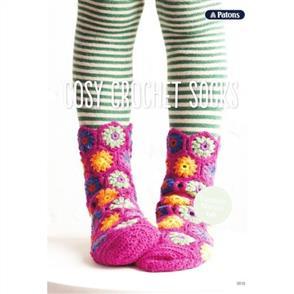 Patons  0019 Cosy Crochet Socks