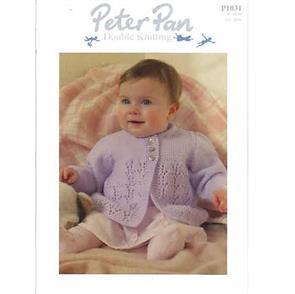 Peter Pan  P1031 Matinee Coat and Cardigan