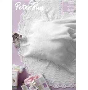 Peter Pan Pattern P1066 Baby's Shawl