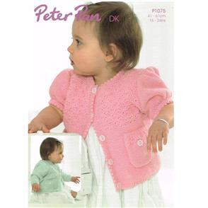 Peter Pan  P1075 Pocket Cardigans