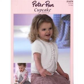 Peter Pan  P1079 Long, Short Short Sleeved and Sleeveless Bolero