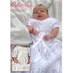 Peter Pan  P1106 Christening Dress