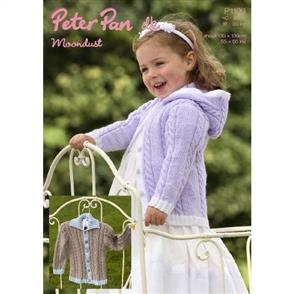 Peter Pan  Pattern P1109 Collared Cardigan and Hoodie
