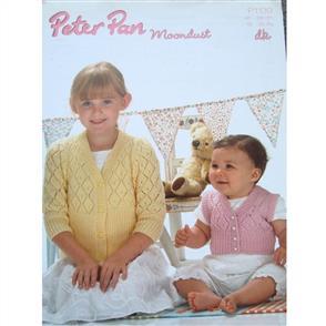 Peter Pan Pattern P1139 Deep Rib Cardigan