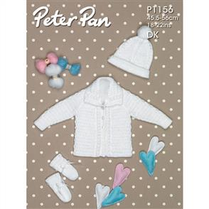 Peter Pan P1156 Jacket Hat and Mitts