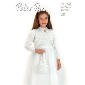 Peter Pan Pattern P1158 Bolero and Bag
