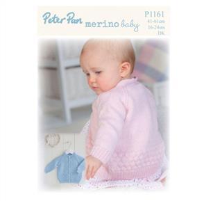 Peter Pan P1161 - Bubble Cardigan