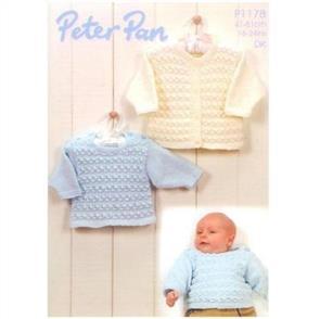 Peter Pan P1178 Cardigan and Sweater