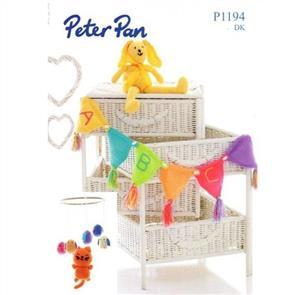 Peter Pan Pattern P1194 Tweety Bird Mobile, Rabbit and Bunting