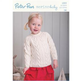 Peter Pan P1222 Reglan Sweaters with Ribbed or Rolled edges