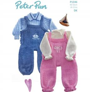 Peter Pan P1246 Dungarees and Sweaters