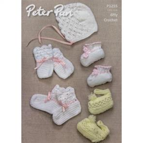 Peter Pan Pattern P1255 Crochet Accessories