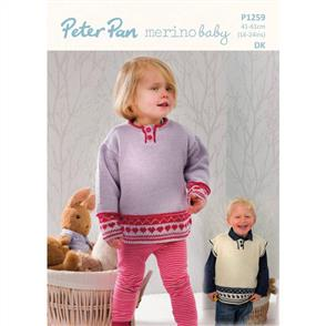 Peter Pan P1259 Sweater and Slipover