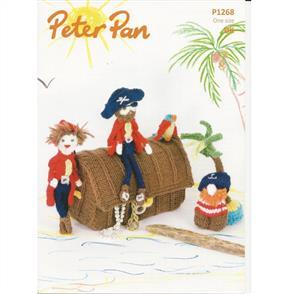 Peter Pan Pattern P1268 Pirate Play Set and Bunting