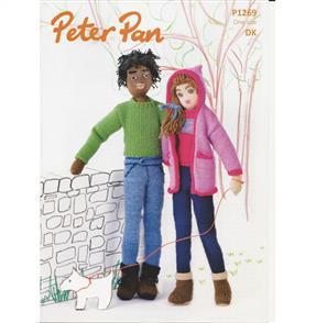 Peter Pan Pattern P1269 Dolls
