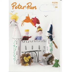 Peter Pan Pattern P1270 Finger Puppets and Bags