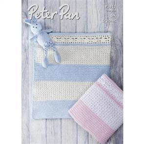 Peter Pan P1311 Crochet Blanket