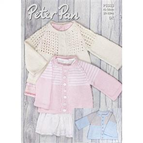Peter Pan  P1313 Jacket with Lace or Striped Yoke