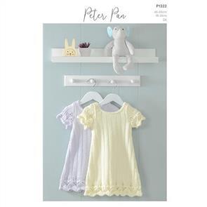Peter Pan P1322 - Dress - Knitting Pattern