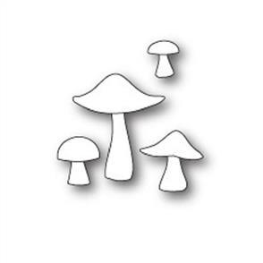 Poppystamps  Die - Mushrooms & Toadstools