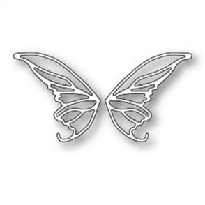 Poppystamps  Die - Enchanted Faerie Wings