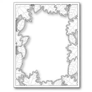 Poppystamps  Dies - Brilliant Leaf Frame